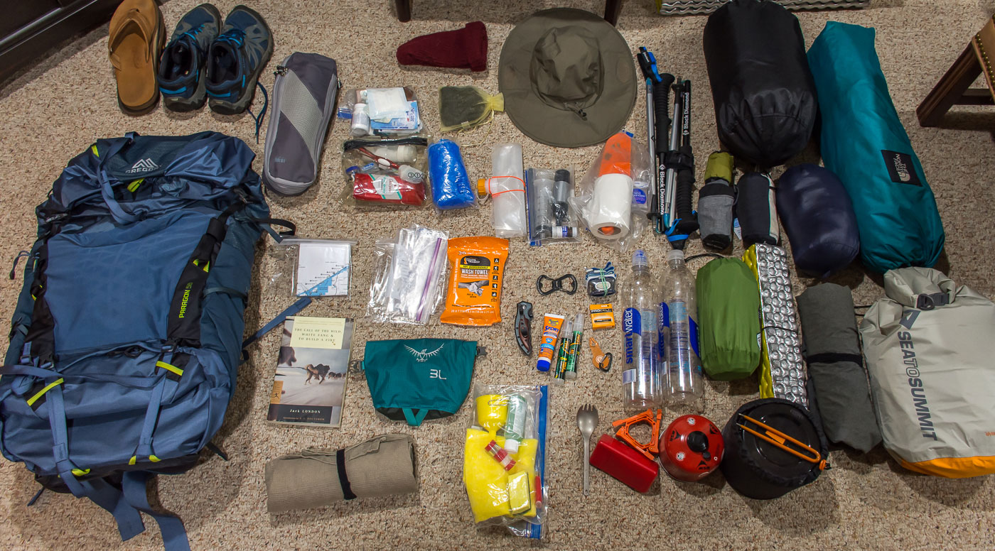 Backpacking Pictured Rocks Gear List